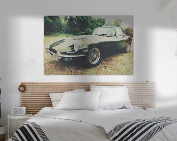 Jaguar Type E sur Wolbert Erich