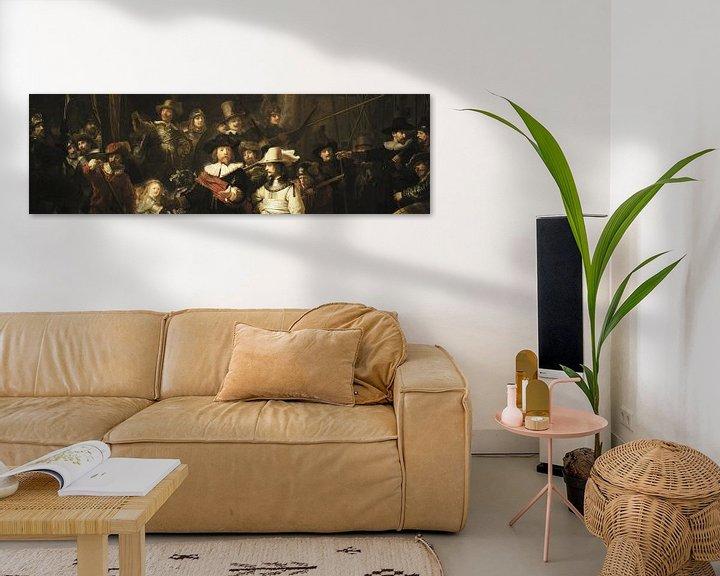Beispiel: Die Nachtwache (Ausschnitt), Rembrandt van Rijn
