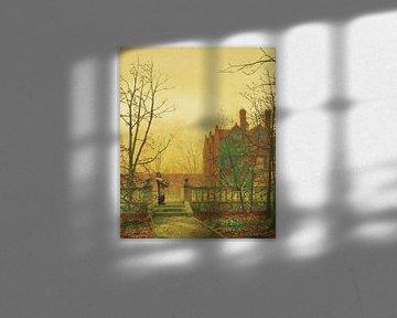 Herfst Goud, John Atkinson Grimshaw