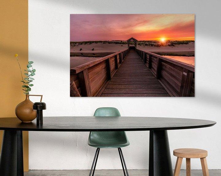 Beispiel: Sunset in Petten von Costas Ganasos