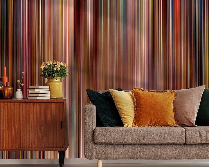 Sfeerimpressie behang: Wave1 van Gaston Biesen