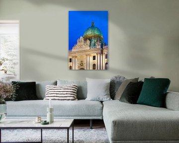 Kuppel der Hofburg in Wien von Werner Dieterich