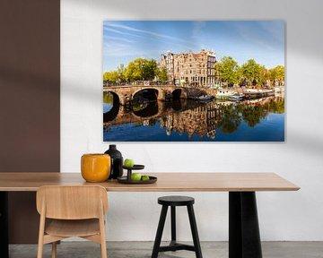 Brouwersgracht in der Altstadt von Amsterdam von Werner Dieterich
