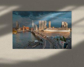 La ville portuaire de Rotterdam sur Arisca van 't Hof
