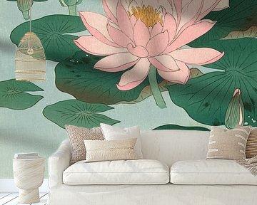 Flowering Water Lily, Ohara Koson