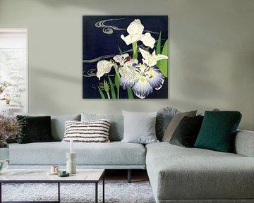 Irises, Tsukioka Kôgyo