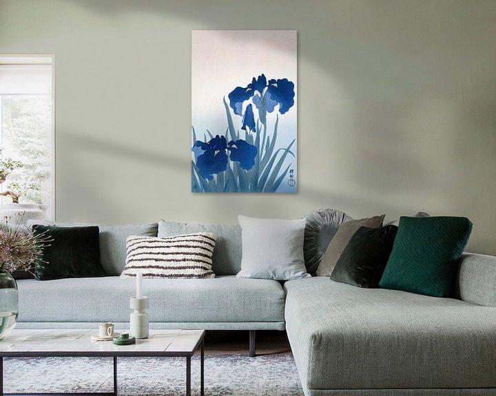 Sfeerimpressie: Irises, Ohara Koson