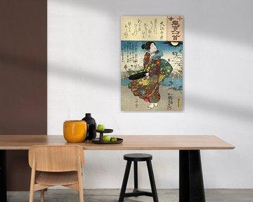 Das ist kein Chisato, Utagawa Kuniyoshi