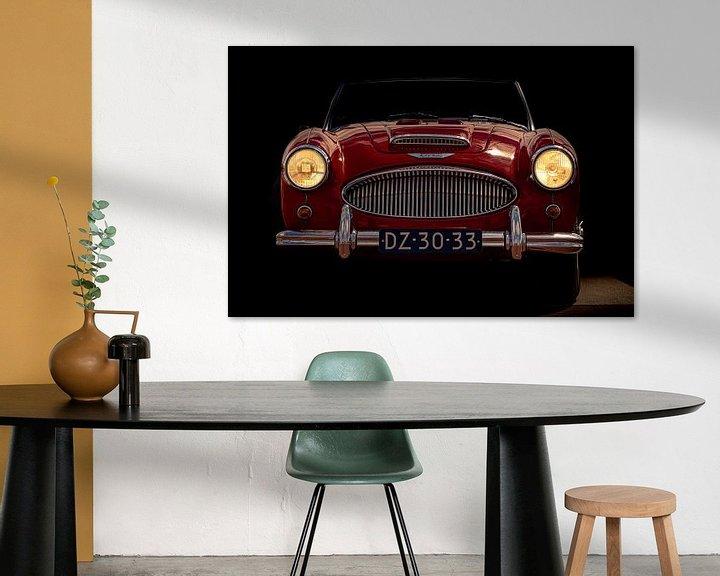 Sfeerimpressie: AUSTIN-HEALEY 3000 1961 van marco de Jonge