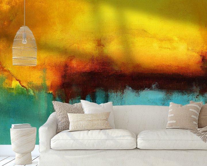 Beispiel fototapete: Sand and Sea von Maria Kitano