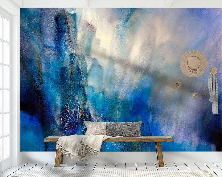 Beispiel fototapete: Blaues Licht von Annette Schmucker
