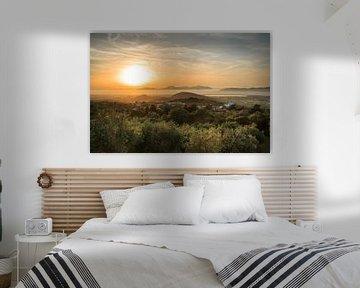 Zia Kos Sunset von Werner Reins