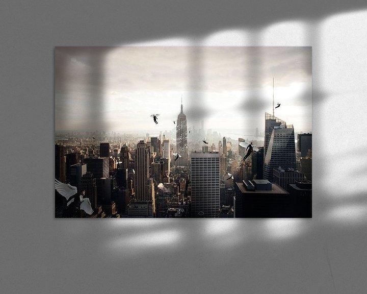 Sfeerimpressie: A city full of angel van Felix Neubauer