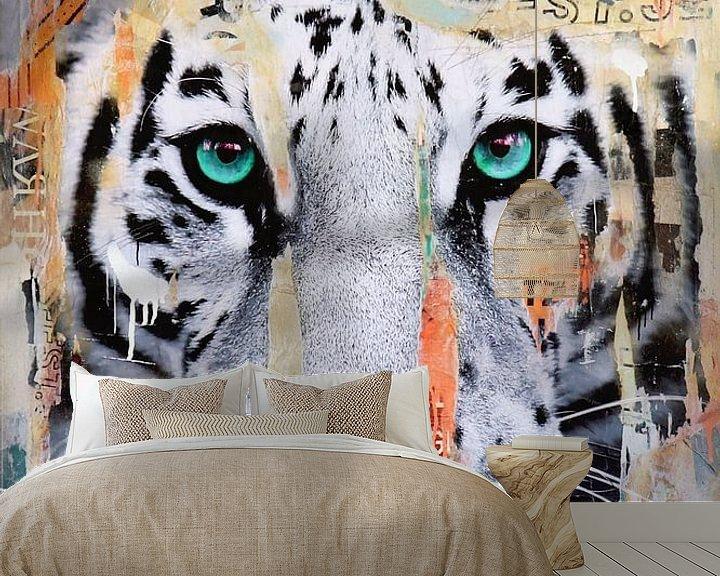 Sfeerimpressie behang: Easy van Michiel Folkers