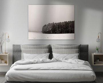 Winterscape van Lena Weisbek