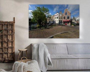 Oudegracht in Utrecht ter hoogte van de Geertebrug von In Utrecht