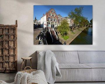 Oudegracht in Utrecht tussen Geertebrug en Smeebrug von In Utrecht