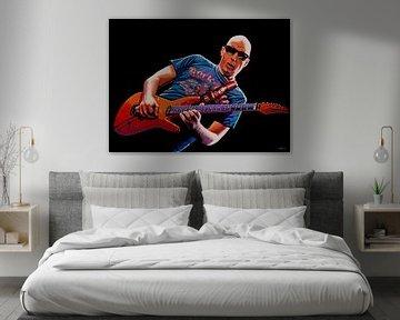 Joe Satriani Gemälde  von Paul Meijering