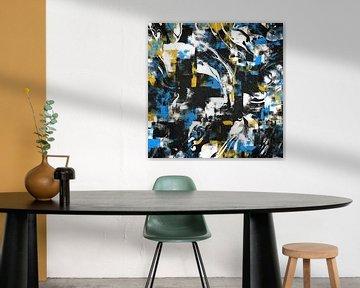 Abstract Flow I von Art Design Works