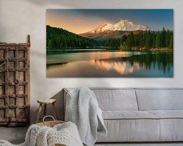 Blick auf den Mount Shasta, Kalifornien von Henk Meijer Photography