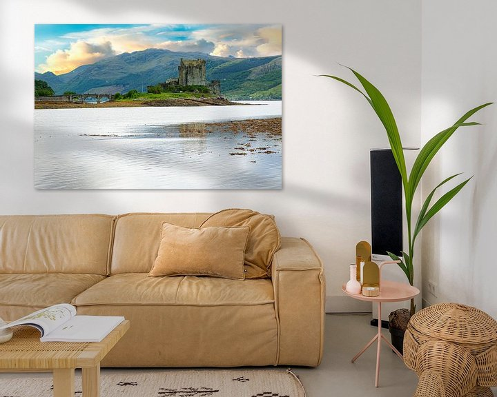 Sfeerimpressie: Eilean Donan Castle, Schotland van Gert Hilbink
