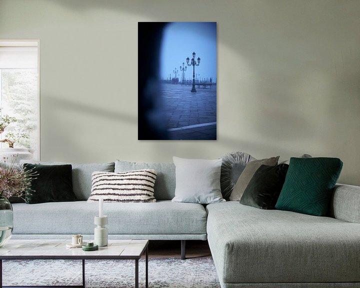 Beispiel: San Marco Platz im Nebel von Karel Ham