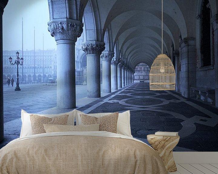 Beispiel fototapete: Piazza San Marco 01 01 von Karel Ham