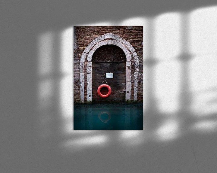 Beispiel: Venedig unter Wasser von Karel Ham