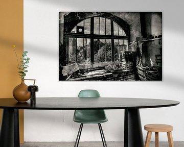 Maison de jardin abandonnée Bretagne sur Mark Isarin | Fotografie