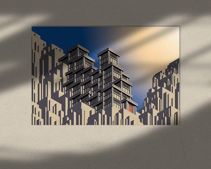 Sfeerimpressie: Building7 van Gaston Biesen