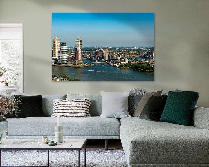 Sfeerimpressie: Rotterdam vanuit de Hoogte van Brian Morgan