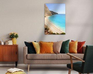 Porto Katsiki strand / Griekse eiland Lefkada