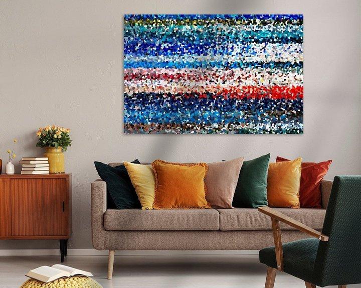 Sfeerimpressie: Kleurrijke kristallen van Marion Tenbergen