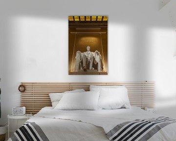 Lincoln Memorial, Washington D.C, Verenigde Staten van Henk Meijer Photography