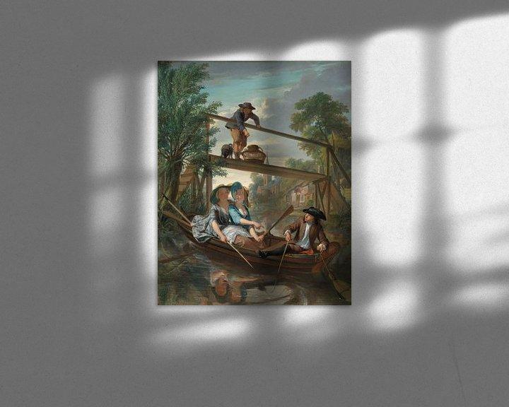 Beispiel: De hengelaars, Nicolaas Verkolje