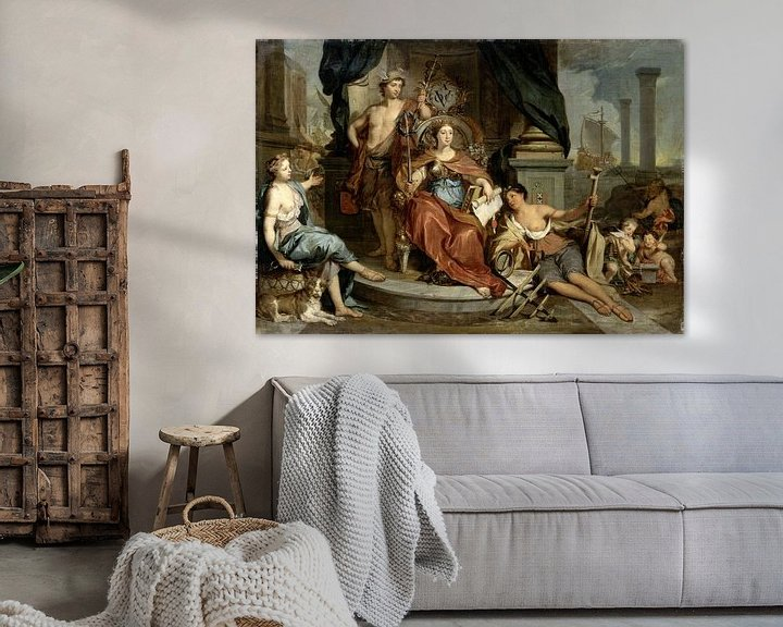 Beispiel: Apotheosis of the Dutch East India Company (Allegory of the Amsterdam Chamber of Commerce of the VOC