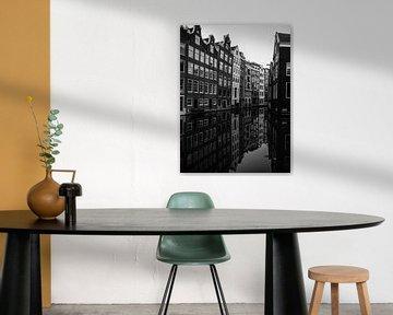 Amsterdam in zwart/wit van Odette Kleeblatt