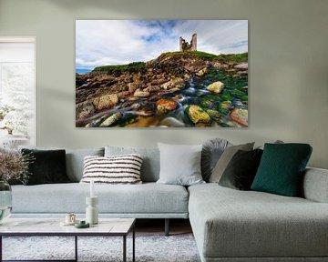alte Ruine in Irland von Daniela Beyer