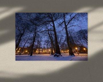 Park Servaasbolwerk / Sonnenborgh en Nieuwegracht in Utrecht von Donker Utrecht