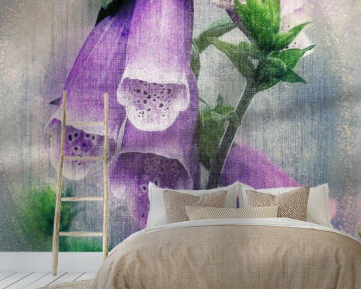 Beispiel fototapete: The color purple von Art by Jeronimo