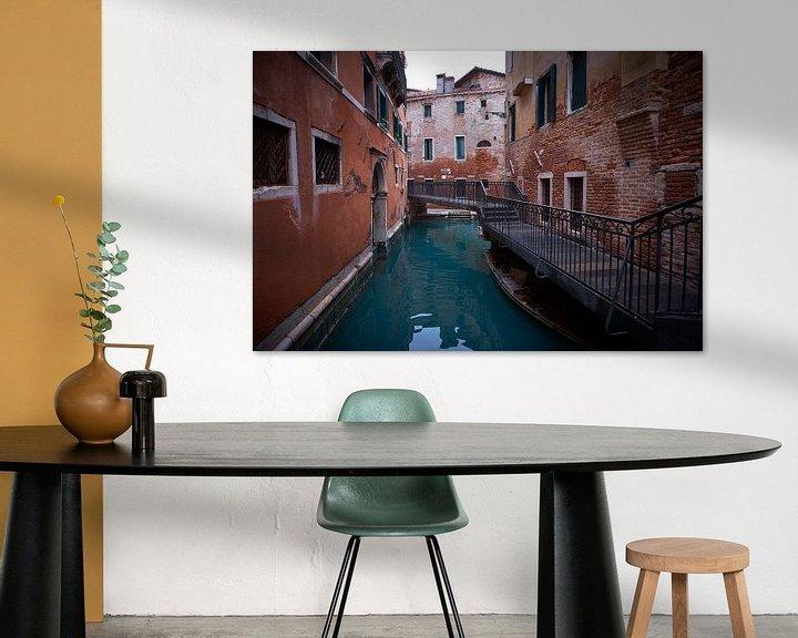 Beispiel: Venedig versunkene Stadt von Karel Ham