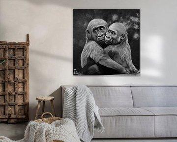 Gorilla's von Liv Jongman