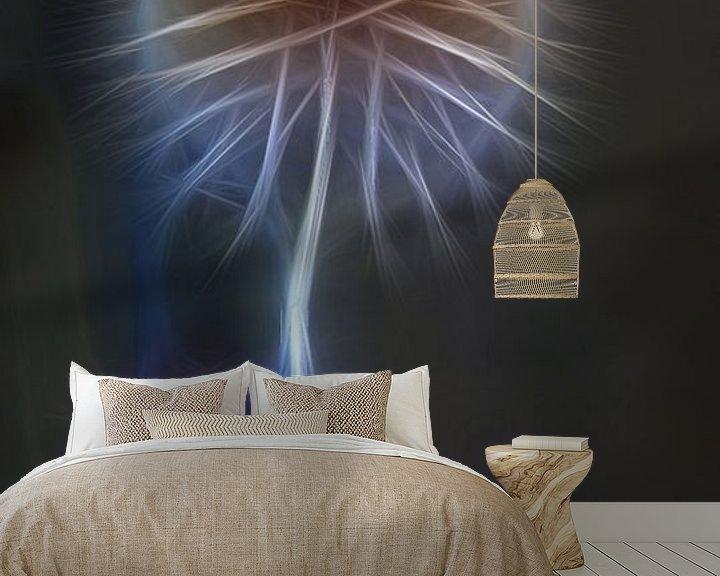 Sfeerimpressie behang: Distel van Jos Verhoeven