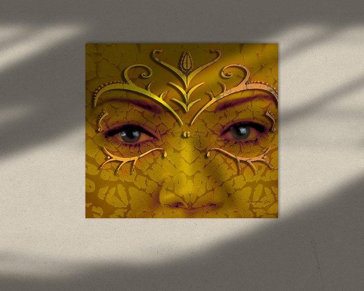 Sfeerimpressie: Masker van Jos Verhoeven