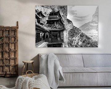 Hangende tempel in Datong, China