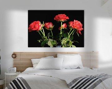 Strauß roter Rosen von Fotografie Jeronimo