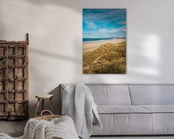 Strand Hayle, Cornwall van Andy Troy
