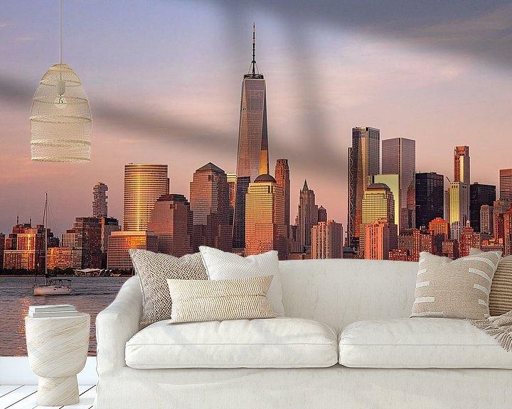 Sfeerimpressie behang: NYC: I love New York van Coby Bergsma