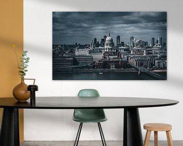 London Southbank skyline dramatic movie sur vedar cvetanovic
