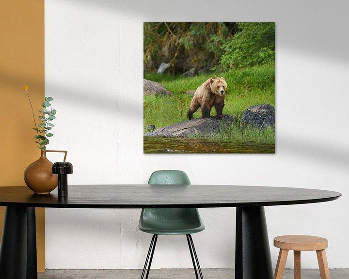 Sfeerimpressie: Grizzly van Gerard Oonk